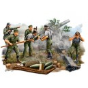 German Field Howitzer Gun Crew, 1:35