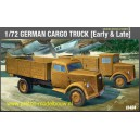 German Cargo Truck (Early & Late) WWII 1:72  Academy