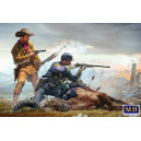 FINAL STAND , Indian Wars Series 1:35  MB35191