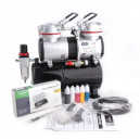 Hit van 2018 AS-196K Airbrush Set met BD-130 verfspuit Fengda